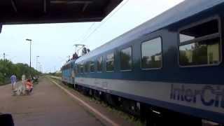 Budapest Zugló: le train InterCité Bereg-Kraszna à destination de Záhony, Mátészalka; IC Jasmine