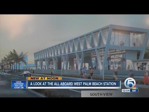 All Aboard Florida unveils West Palm station design