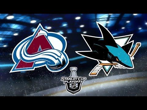NHL® 18 Playoffs Round 3 | San Jose Sharks v.s. Colorado Avalanche | Game 4