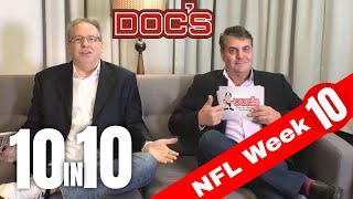 NFL Picks Week 10, Football Betting Analysis | The 10 IN 10 Show