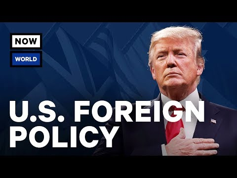 A Look Back at the First Year of Trump's Foreign Policy | NowThis World