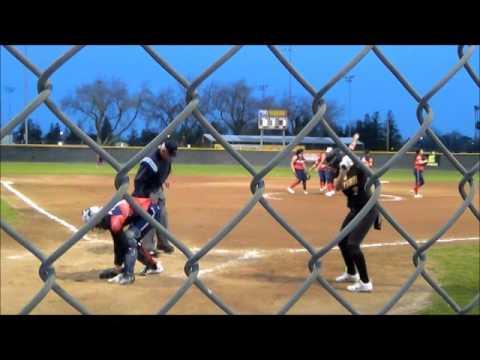 Edison Tiger Softball vs East Bakersfield High School March 3, 2017