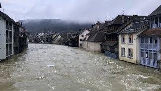 Inondations : Edition spéciale du 12/13 en direct d'Ornans