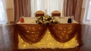 Оформление свадьбы в Спб в классическом стиле