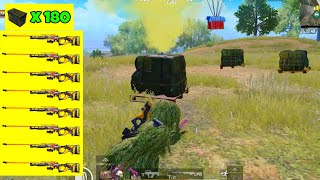I FOUND 9 AWM'S | 34 KILLS SOLO vs SQUADS | PUBG MOBILE