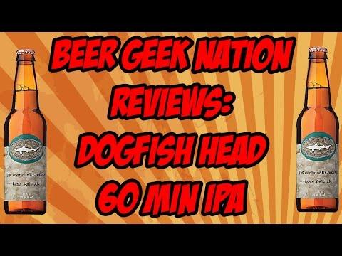 Dogfish Head 60 Minute IPA   Beer Geek Nation Craft Beer Reviews