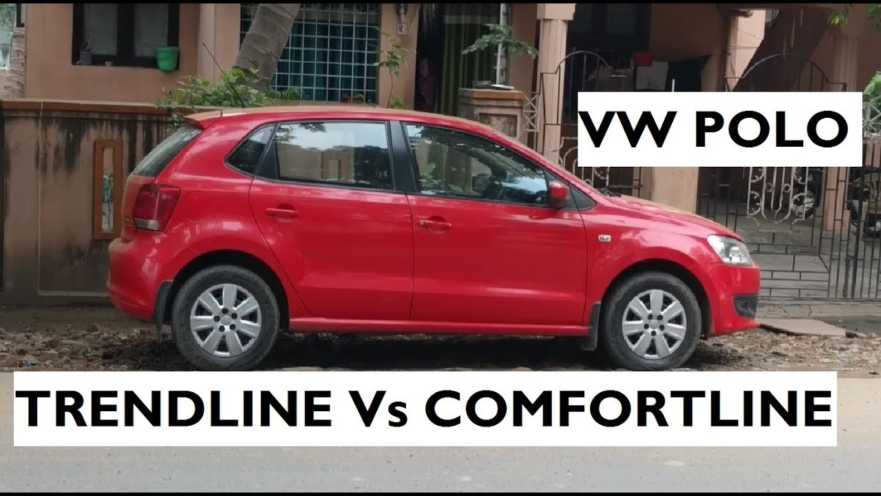 volkswagen polo trendline vs polo comfortline youtube. Black Bedroom Furniture Sets. Home Design Ideas