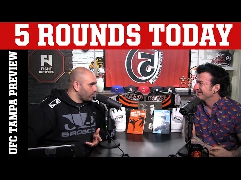 UFC Fight Night Zagreb Recap, UFC Fight Night Tampa Preview & More on 5 Rounds Today