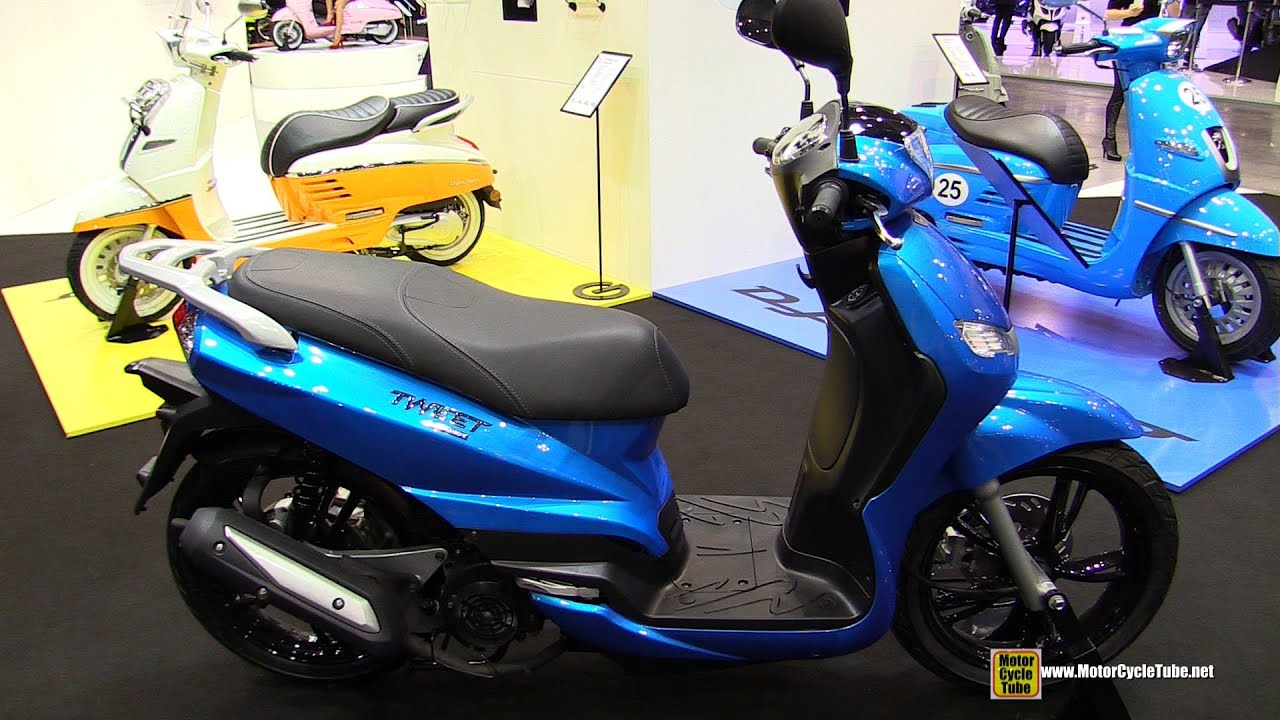 2015 peugeot tweet evo 125 scooter walkaround 2014 eicma milan motorcycle exhibition youtube. Black Bedroom Furniture Sets. Home Design Ideas