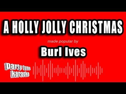 Burl Ives - A Holly Jolly Christmas (Karaoke Version)