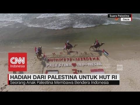 Hadiah dari Palestina untuk HUT ke-73 RI