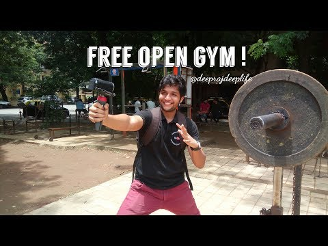 FREE OPEN GYM IN MUMBAI VLOG