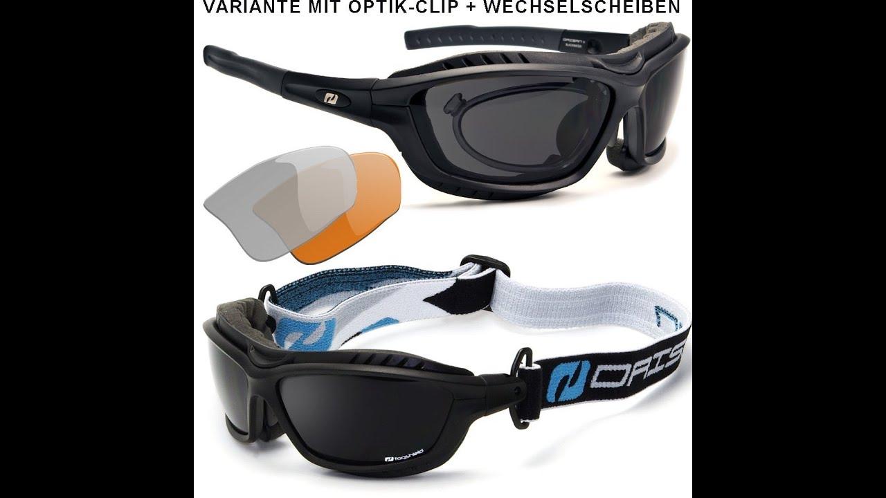 Uv400 Polarisierte Sportbrille Radbrille Sonnenbrille Wechselgläser ...