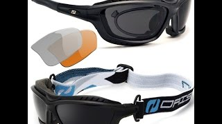 Uv400 Polarisierte Sportbrille Radbrille Sonnenbrille Wechselgläser (X5 Farben)