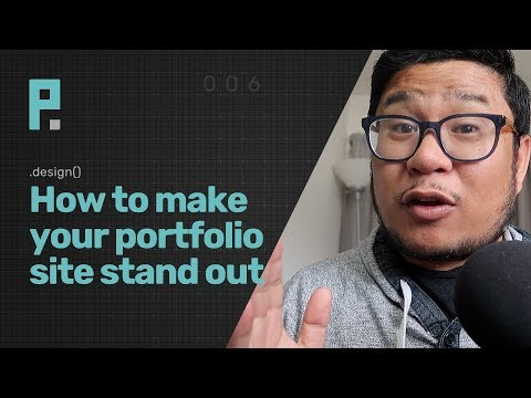 how to make your portfolio site stand out