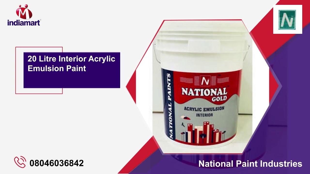 1 Litre Exterior Acrylic Emulsion Paint