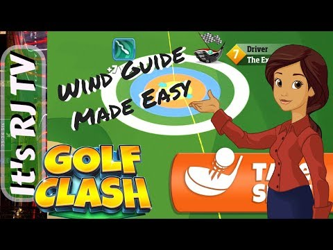 Golf Clash How to Understand Wind and Rings made EASY!
