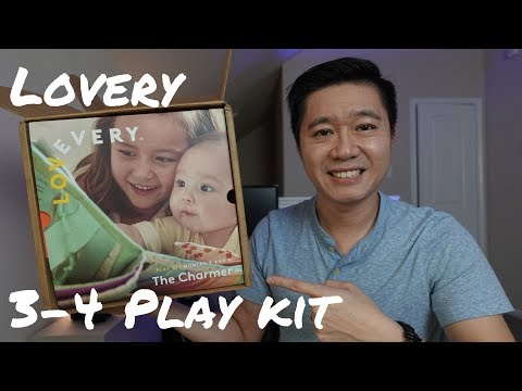 Lovevery Play Kit 3 - 4 Month Review | The Charmer
