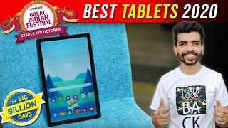 Best Tablets 2020 - Amazon Great Indian Festival Sale 2020 & Flipkart Big Billion Day 2020