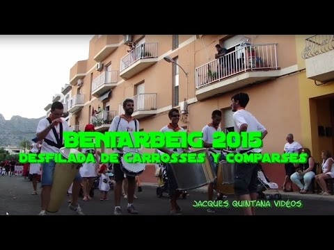 BENIARBEIG 2015 - Carrosses