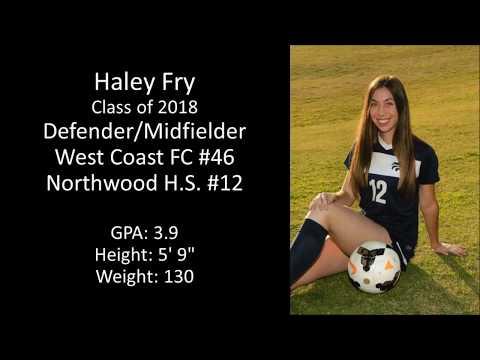 Haley Fry  Class of 2018  Soccer Recruiting Video
