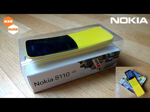 Nokia 8110 4G Banana Phone Original vs Clone Comparison
