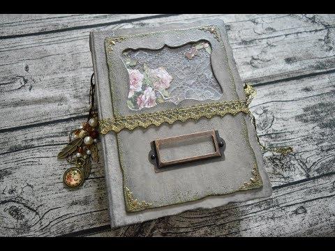 Junk Journals Flip Through \ Custom Order \ Heirloom Journal