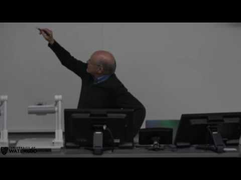 Waterloo Brain Day Lectures 2016 - Larry Abbot (Columbia University)