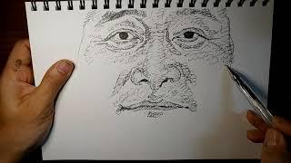 화가 이동협 얼굴드로잉 닮아도3. 얼굴그림. 인물드로잉…