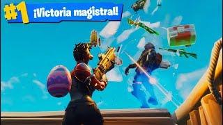 JUGANDO AGRESIVO! FORTNITE: Battle Royale