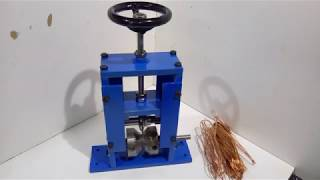 Homemade wire stripper / Korowarka do kabli / Kabelschaelmaschine