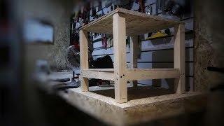 простой стол для фуганка из хлама своими руками