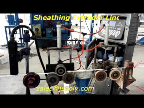 building wire sheathing extruder line