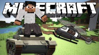 ПРИРУЧИ ТАНК И ВЕРТОЛЕТ - Minecraft (Обзор Мода)
