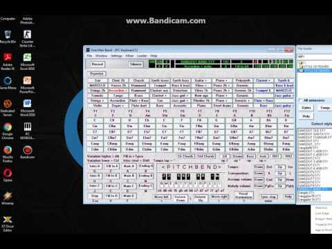 Main Keyboard Lewat Laptop Pake Aplikasi OMB Bisa Di Download .. Style Dangdut Band
