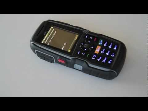 Sonim XP3340 Sentinel - Lone Worker Demo
