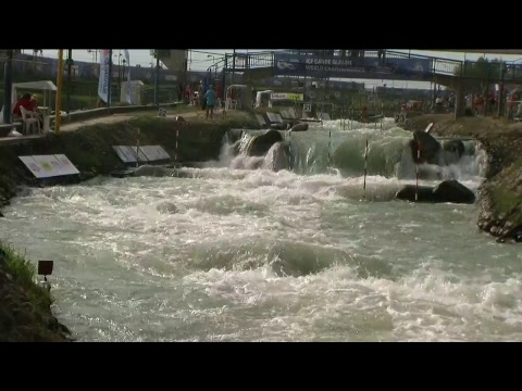#ICFSlalom 2017 Junior & U23 Canoe World Championships, Bratislava, Saturday afternoon finals evens