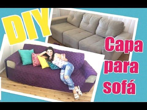 2a512c2438e DIY - Como fazer uma Capa de sofá - YouTube