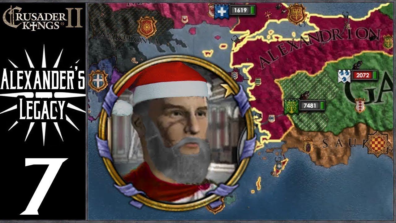 CK2: Lux Invicta - Alexander's Legacy #7 - Santa Rises