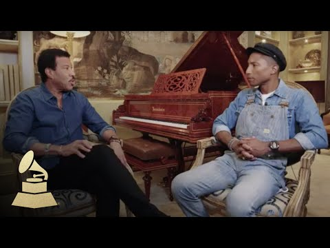 Lionel Richie and Pharrell Williams Interview | 58th GRAMMYs ...