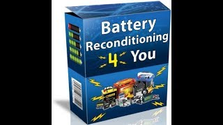 Battery Reconditioning 4 you Review-Does It Work? or Scam