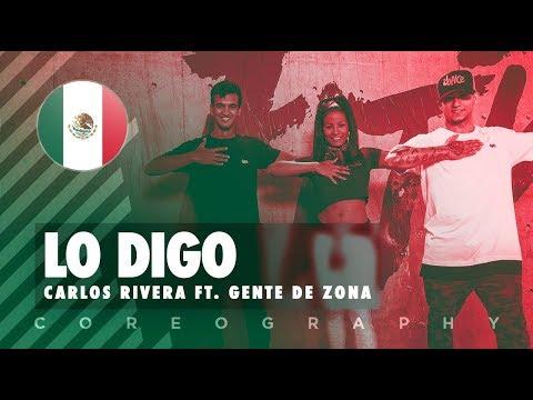Lo Digo - Carlos Rivera ft. Gente de Zona | FitDance Life (Coreografía) Dance Video
