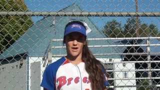 Emily Lockhart 2015 2016 Softball Skills Video Aloha Breeze 18A