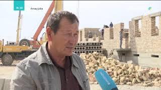 Arnaiy joba (Арнайы жоба) - Жаңа Түркістан облысының тыныс - тіршілігі
