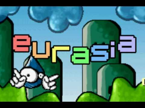 EURASIA - Saves the Earth - GBA Cracktro / Crack Intro ( GAMEBOY ADVANCE)
