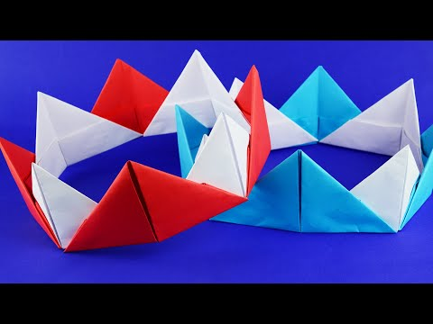 DIY paper crown for school theatre show or Birthday party. – Helpful Crafts