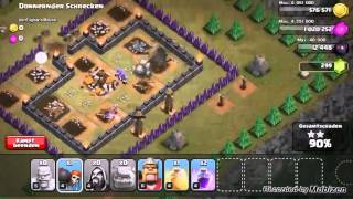 Clash of Clans Let's play ! Angriff auf der Kobold