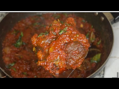 How To Make Nigerian Goat Meat Stew
