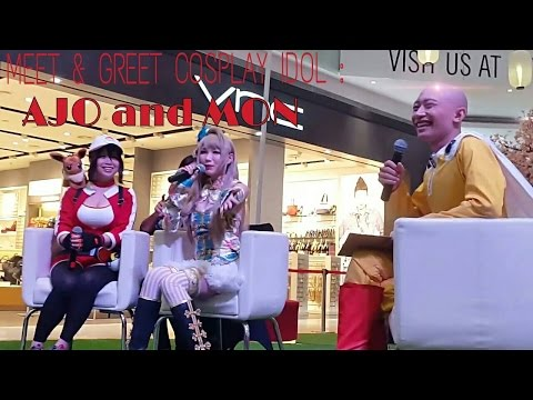 Meet and Greet with cosplayer idol Mon and Ajo from Taiwan