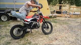 DB-X29 X-PRO® 125cc features kick n clutch
